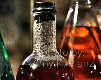 5x7 Weird Science Red Potion Photo