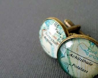 Personalized Cufflinks for Molly -  Connersville,Indiana