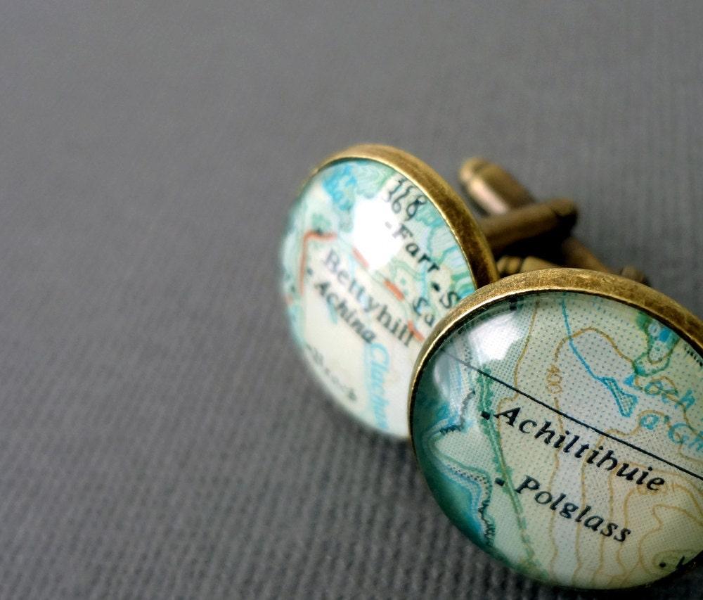 Personalized Cufflinks for Koumikoumi Scotland and Singapore