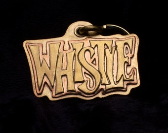 Whistle style tag