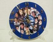 Elvis Presley CD Clock