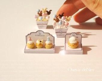 Cupcake Display Boxes-digital printable PDF-12th scale