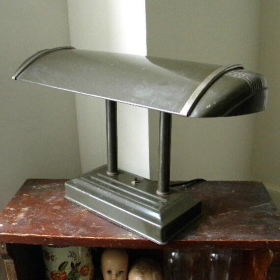 20 off was vintage industrial art deco desk lamp - Deco vintage industriel ...