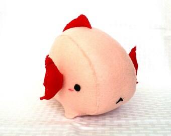 Pink Axolotl Plush
