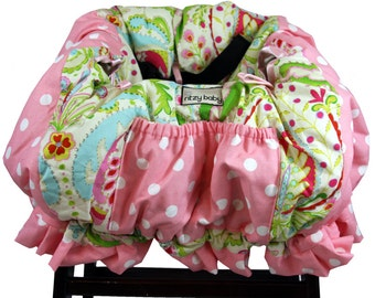Baby Shopping Cart Cover, Restaurant High Chair Cover Kumari Garden padded and made for up to two children