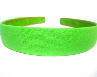 Green Headband One Inch