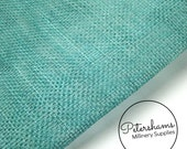 Sinamay Fabric Jade (1/2 yard) for Millinery, Fascinators & Hat Making