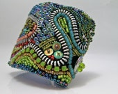 Embroidered Garden Wrap Cuff