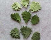 Greensleeves - Small Holly Leaves Value Pack - 108 Die Cut Wool Blend Felt Shapes
