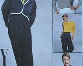 Jacket, Top, and Pants Sewing Pattern UNCUT McCalls 8095 Size 14