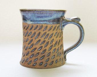 Small Coffee Mug, Handmade Comfortable Mug