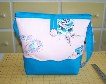 Spring Fabric tote
