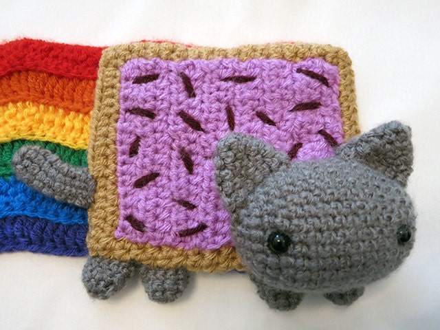 Nyan Cat Scarf Crochet Pattern Free Pakbit For
