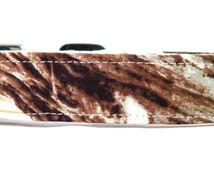 Welcome To The Winter Woods Snow White Camouflage Hunting Camo Dog Collar