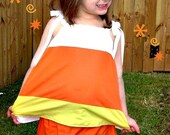 Candy Corn Cutie Set  Halloween Candy Corn Set