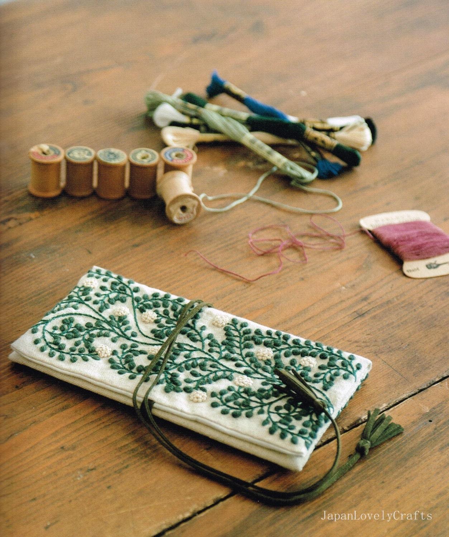 Wool stitch yumiko higuchi japanese craft book natural for Japan craft