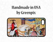 Disney princess iPhone 6 6S case, Cinderella and Prince Charming wedding, iPhone 4 4s, 5 5s, 5c, Galaxy S5, S6, happily ever after, greenpix