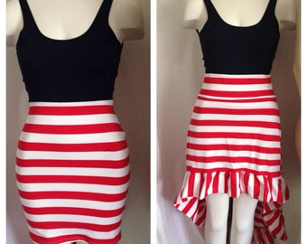 Tank top mini or Hi-low or full length /4th of July dress/ Independence Day