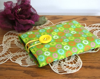 Super cool lime green fabric kindle cozy