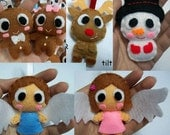 Christmas Theme (Gingerbread, Reindeer, Snowman, Angel) - PICK ONE