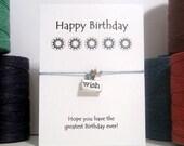 Wishing Star Happy Birthday  Wish Bracelet