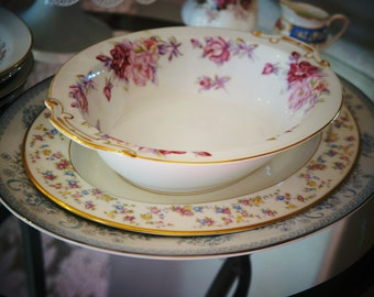 Mismatched Vintage China Serving Pieces for Tea Parties, Bridal Luncheons, Showers