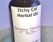 Itchy Cat Herbal Oil, 1 fluid ounce, unique visions by Jen