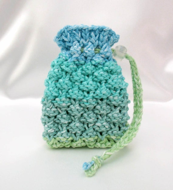 Soap Saver Bag Soap Sack Drawstring Pouch by SticksNStonesGifts