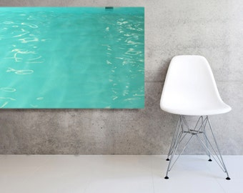 Modern Minimalist   Large Canvas Mid Century Pool Modern Wall Decor Abstract Photography