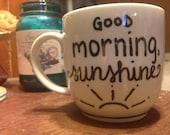 Handmade Typography Mug