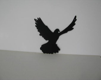 Dove Flying 006 Metal Wall Yard Art Silhouette