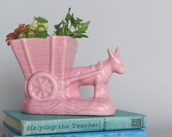 Vintage Art Pottery Planter - home decor