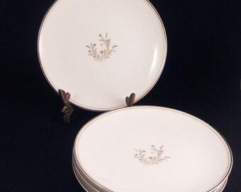 Noritake Ardis Bread & Butter Plates (4) Circa 1956