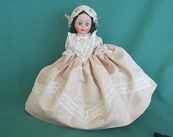 "Madam Alexander Wendy doll 8"" Vintage Portrettes Doll Claudette #1123 1988-1989"