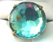 Vintage West Germany Costume Turquoise Ring