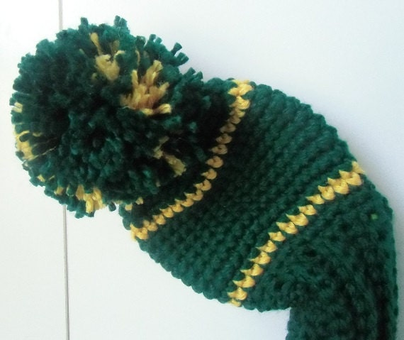 Green Bay Packers Crochet Golf Club Head Covers Inspired by
