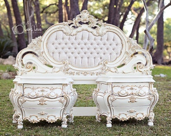 Royalty-Custom Bedroom Set Made to Order