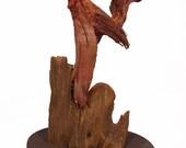 Sunrise Rooster Original Rick Cain Sculpture 2014