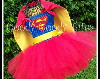 LOIS AND CLARK Tutu Dress with Detachable and Reversible Cape - Up to 4-6t