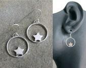 SALE Wishing Star Earrings