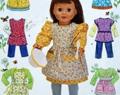 Doll Clothes & Apron Pattern, Simplicity G2761, 18 inch Dolls