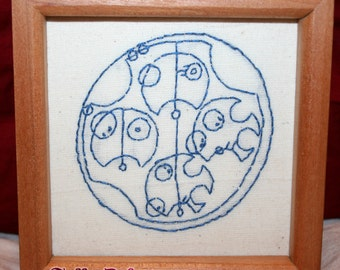 Wibbly Wobbly timey wimey translated in Gallifreyan - Doctor Who