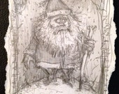 Santa Clops - Original sketch by Michael deMeng