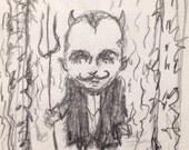 Little Diablo - mini sketchl-let by Michael deMeng