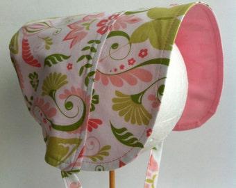 Easter Bonnet, BONNET, Sun Hat, Reversible Bonnet, Butterfly Bonnet, Sun Bonnet, Simple Bonnet