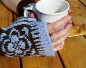 Fingerless gloves,topless mittens,wool,alpaca