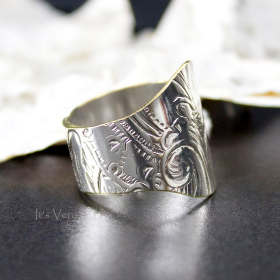 knuckle ring metal thumb ring unique ring promise ring