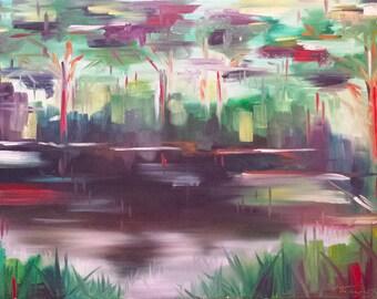 The Everglades - Original Oil Painting