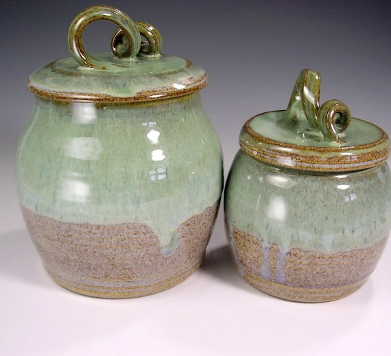 Kitchen Canister Storage Jar Ceramic Canisters Pottery