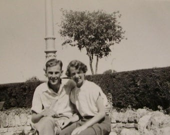 Vintage Photo - Young Couple
